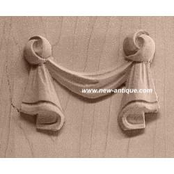 Applique resin/wood 98