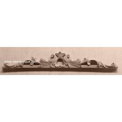Applique resin/wood 153