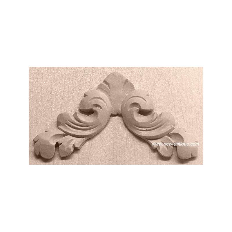 Applique resin / wood 161