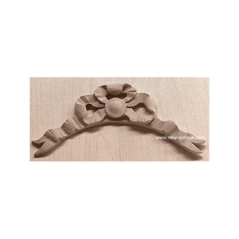 Applique resin / wood 162
