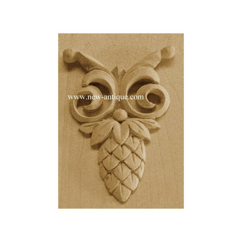 Applique resin / wood 173