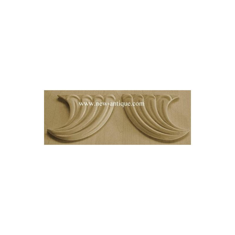 Applique resin / wood 179