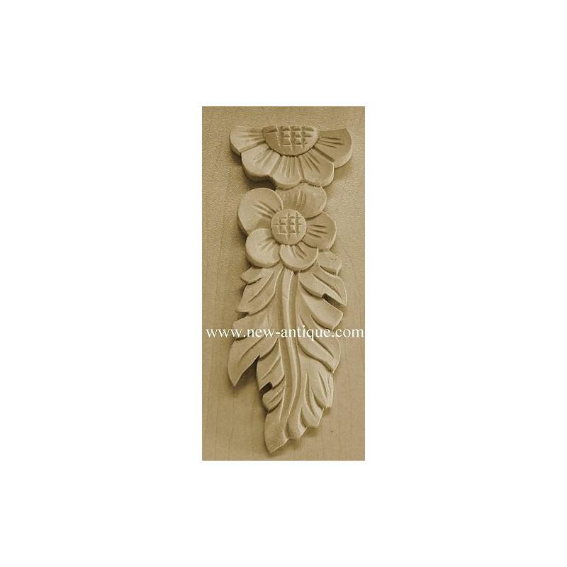 Applique resin / wood 181