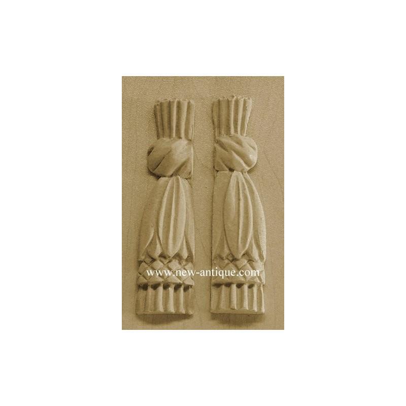 Applique resin / wood 182