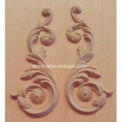 Applique resin / wood 185