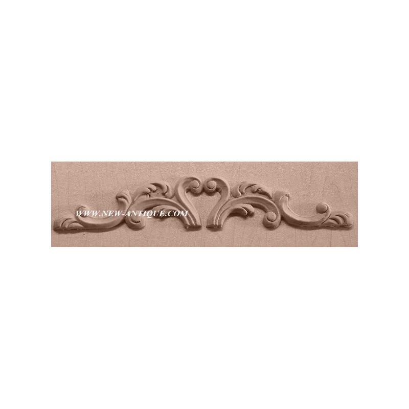Applique resin / wood 207