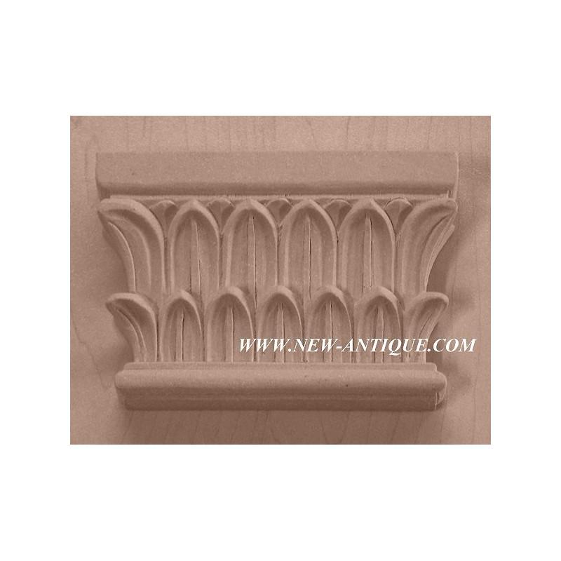 Applique resin / wood 218