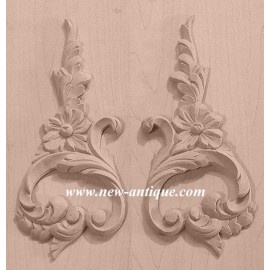 APPLIQUES EMBOSSED CARVINGS Wood / Resin 241