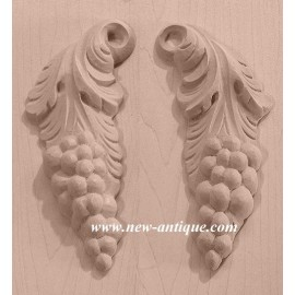 APPLIQUES Wood / Resin 251