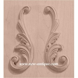 APPLIQUES Wood / Resin 254