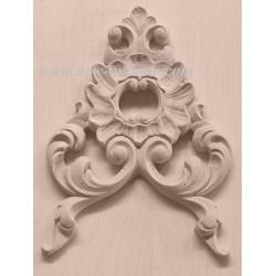 Applique resin / wood 272