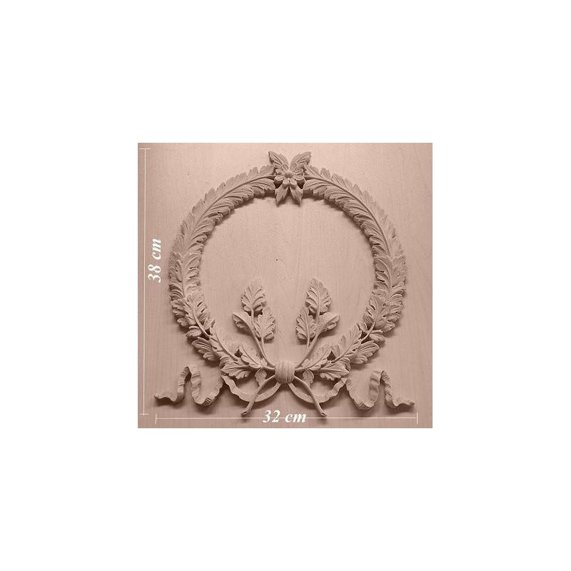 Applique resin / wood 273