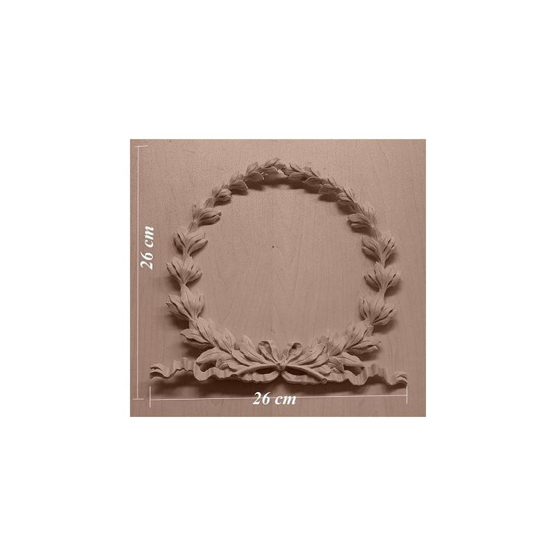 Applique resin / wood 282