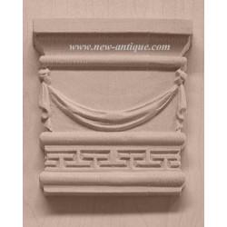 Applique resin / wood 286