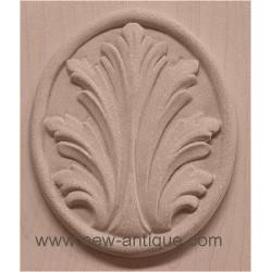 Applique resin / wood 295