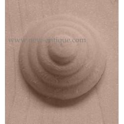 Applique resin / wood 309