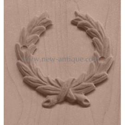 Applique resin / wood 311