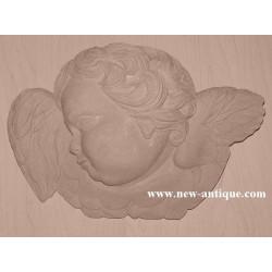 Applique Angel resin / wood 325