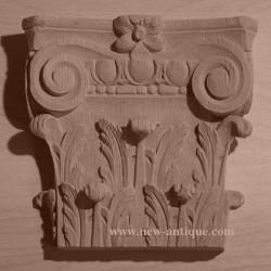 Applique Angel resin / wood 330