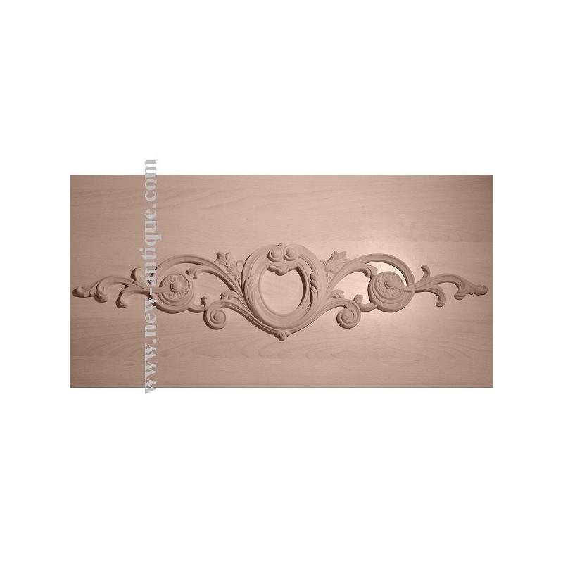 Applique Angel resin / wood 332