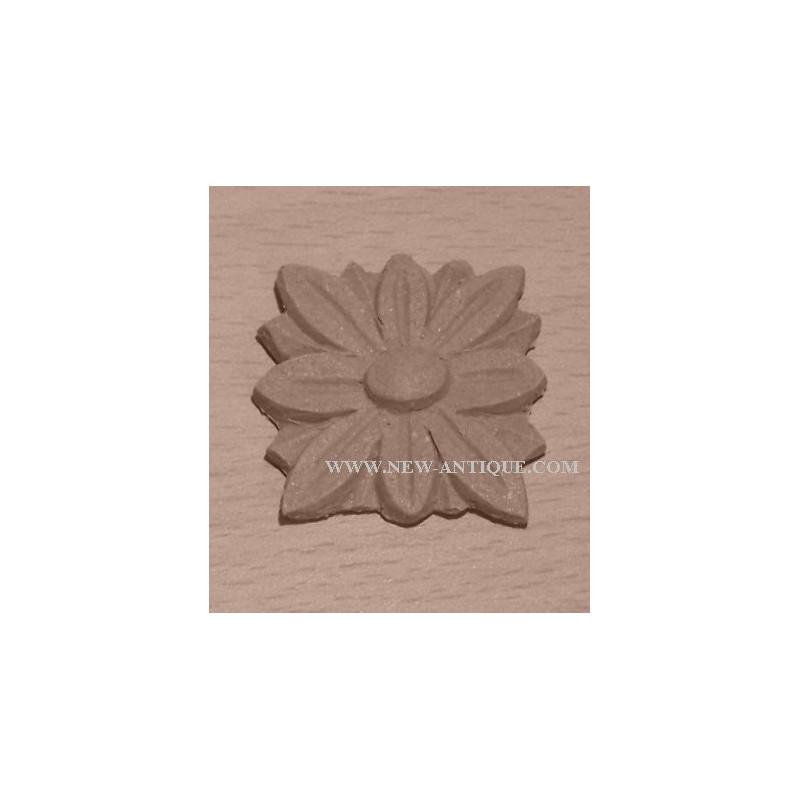 Applique Angel resin / wood 340