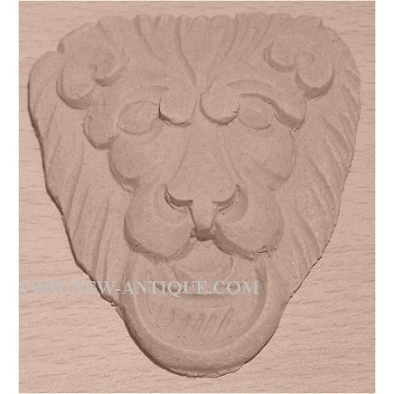 Applique Angel resin / wood 341