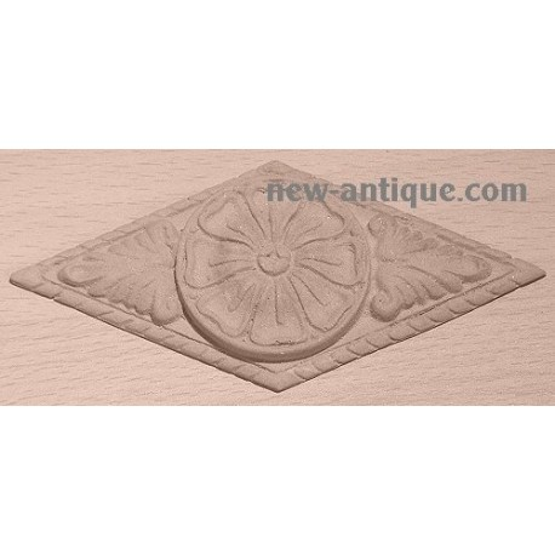 Applique resin / wood 348