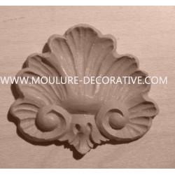 Applique resin / wood 263