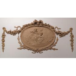 Napoleon III medallion