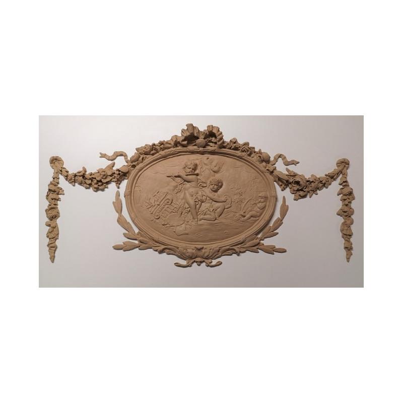 Médaillon Napoléon III